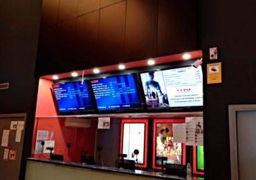 Videowall 4×2 en Ocine Platja d'Aro