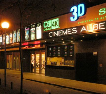 Cinemes Albeniz Girona - Foto www.salir.com